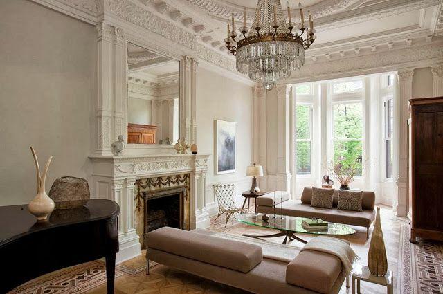 Modern victorian living room pinterest for Modern victorian living room designs