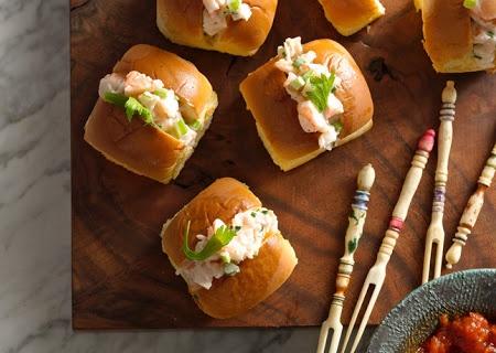 Mini Shrimp Rolls | Recipe