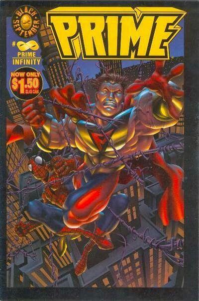 The Ultraverse S Prime Meets Spider Man Malibu Comics