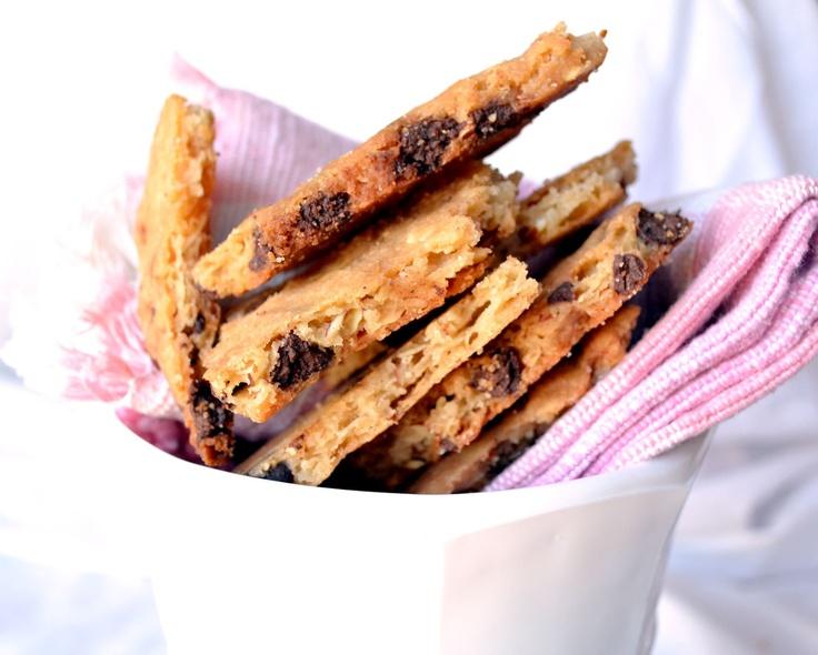 Chocolate Chip Cookie Brittle | Recipe: cookies | Pinterest