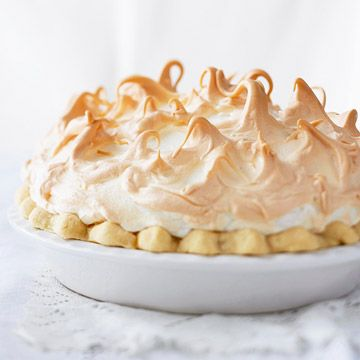 Bring this gorgeous Chocolate Meringue Pie to your next get-together!