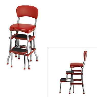 where to buy beats by dre cheap Cosco Retro ChairStep Stool in Red