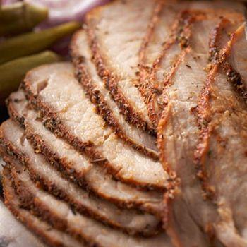 Cajun Spice-Rubbed Pork Loin Roast | This Little Piggy | Pinterest