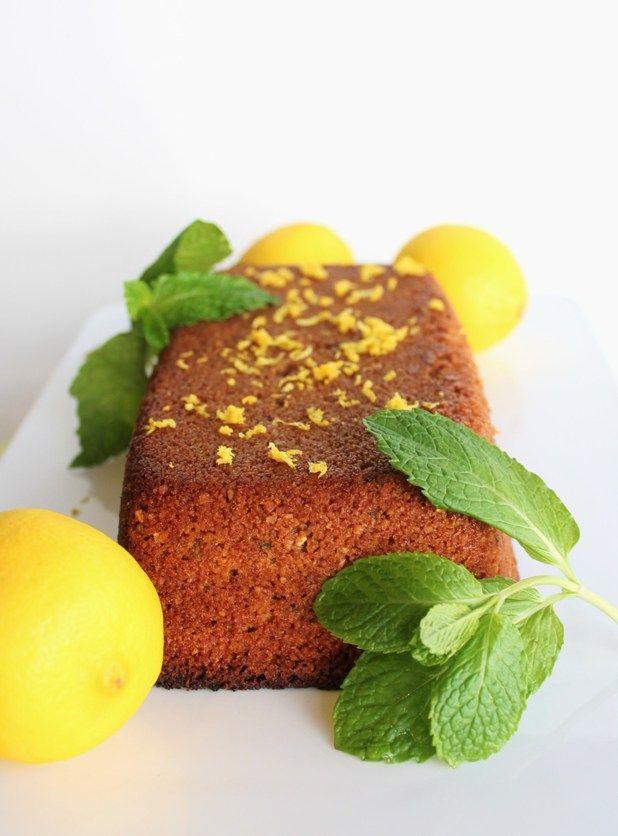 Vanilla, Lemon & Mint Breakfast Loaf