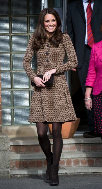 The Duchess of Cambridge Visits The Art Room