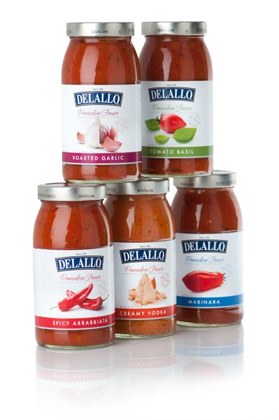 What's red, delicious and made with all-natural ingredients? Our newest line of gourmet pasta sauces! #delallo #pomodoro_fresco