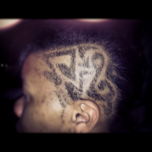 Musical notes Haircut | You betta work that HAIR | Pinterest