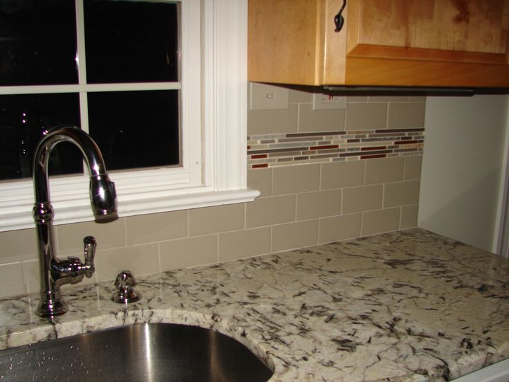 Kitchen Facelift Daltile Architectural Gray Matte Subway Tile