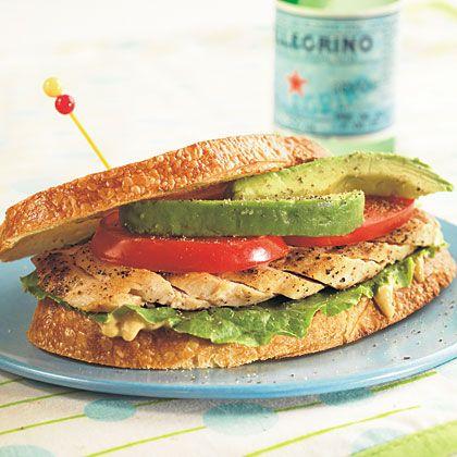 California Chicken Sandwich | Happy Tummies P.M. | Pinterest