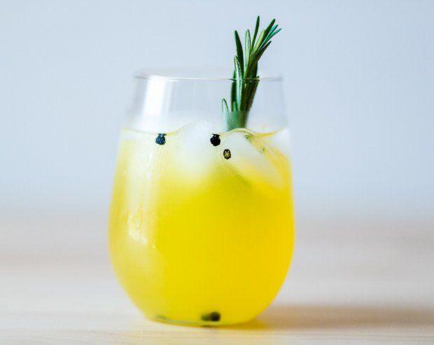 Rosemary Peppercorn Lemonade. Spiking your lemonade with herbal and ...