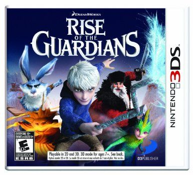 Com rise of the guardians the video game nintendo 3ds video games
