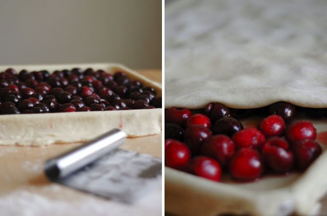 ... style bagels, Jamaican beef pies, sweet & sour cherry slab pie (pic