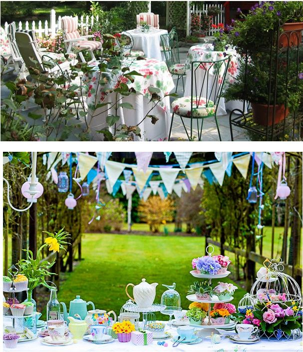 Backyard Garden Party : garden party  Backyard Parties  Pinterest