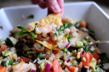 Shrimpo de Gallo | Yum | Pinterest