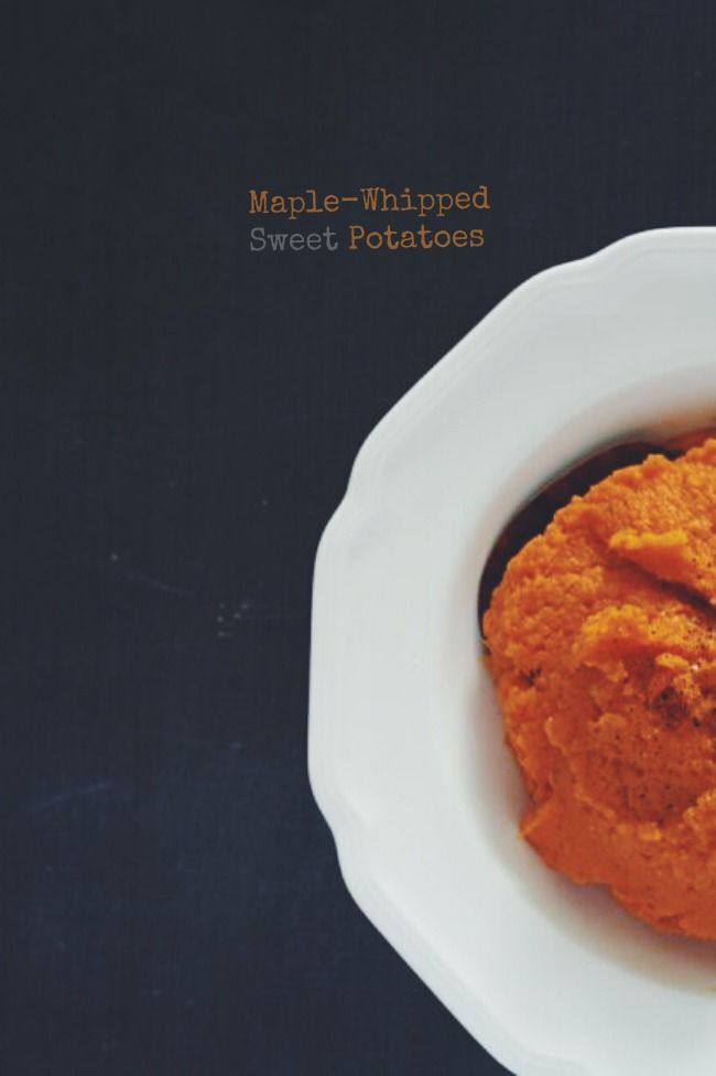 Maple Whipped Sweet Potatoes | The Best of this Life #vegan