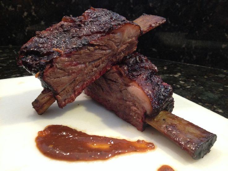 Smoked beef ribs. Outstanding! | Smokin BBQ Beast | Pinterest