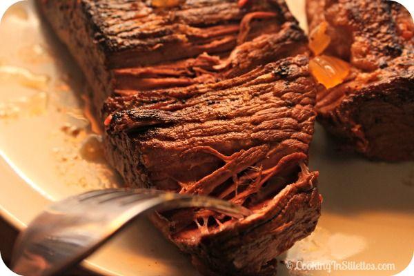 Machaca aka Slow Cooker Beef Brisket - Fork Tender | Cooking In ...