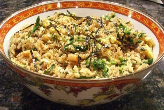 Kimchi fried rice. Planning to try this with brown rice, and to add ...