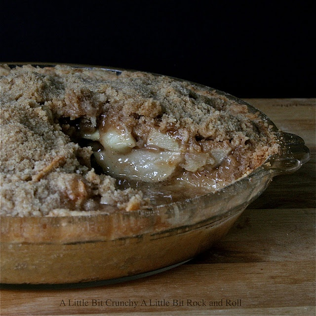 Brown Bag Baked Dutch Apple Pie - Ingredients: 1 pie crust (my no roll ...