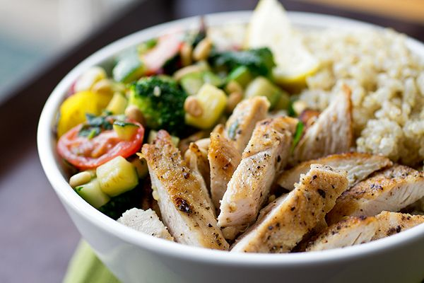 Chicken Quinoa Bowl | Good eats! | Pinterest