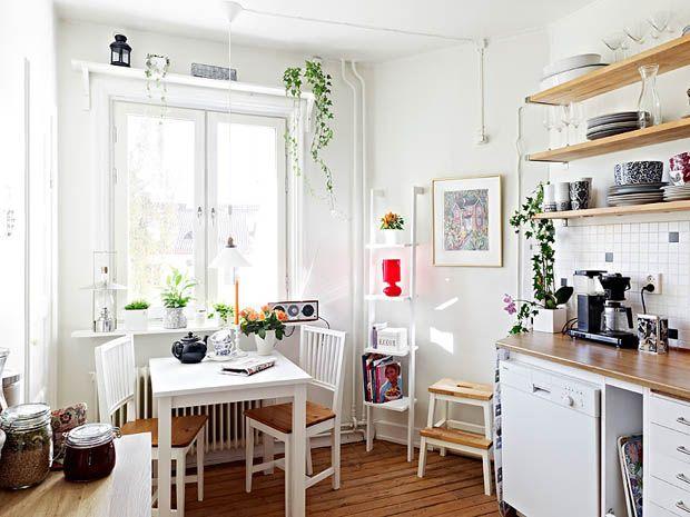 ห้องครัวสีขาวน่ารักๆ