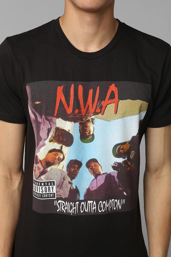 N.W.A. Straight Outta Compton Tee #urbanoutfitters