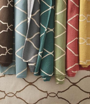 Bogart Flat-Weave Wool Rug at Garnet Hill