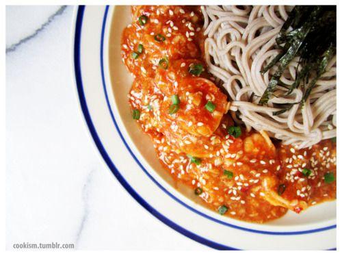 Ebi Chili Soba | Main Meals | Pinterest