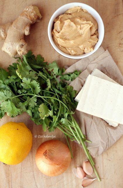 roasted tofu sandwich with peanut sauce. | Healthy Food I eat | Pinte ...