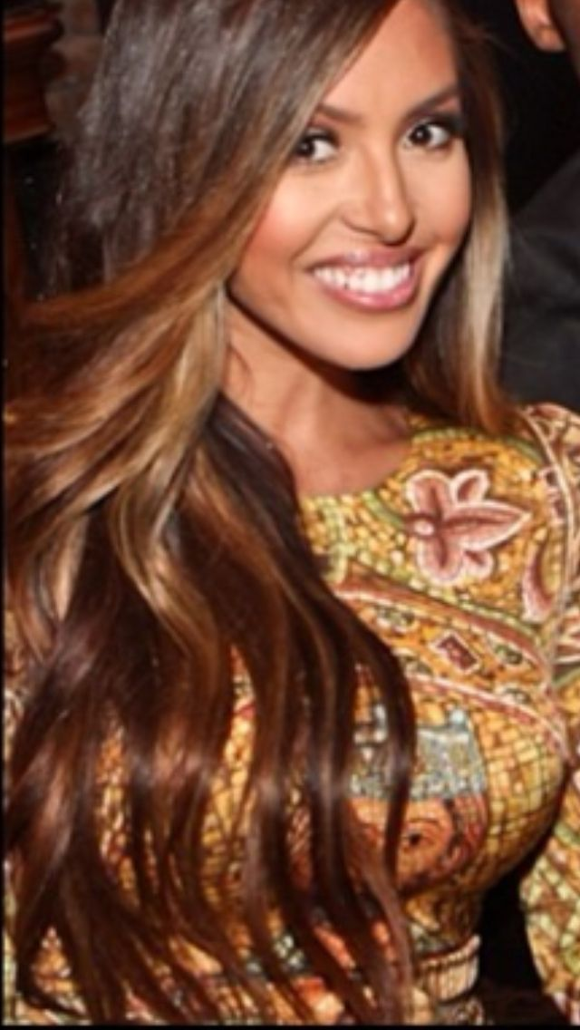 Caramel hair colors