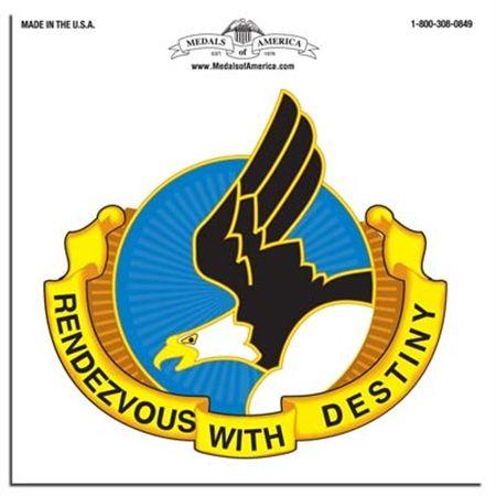 101st Airborne Division Unit Crest Decal | Medals of America