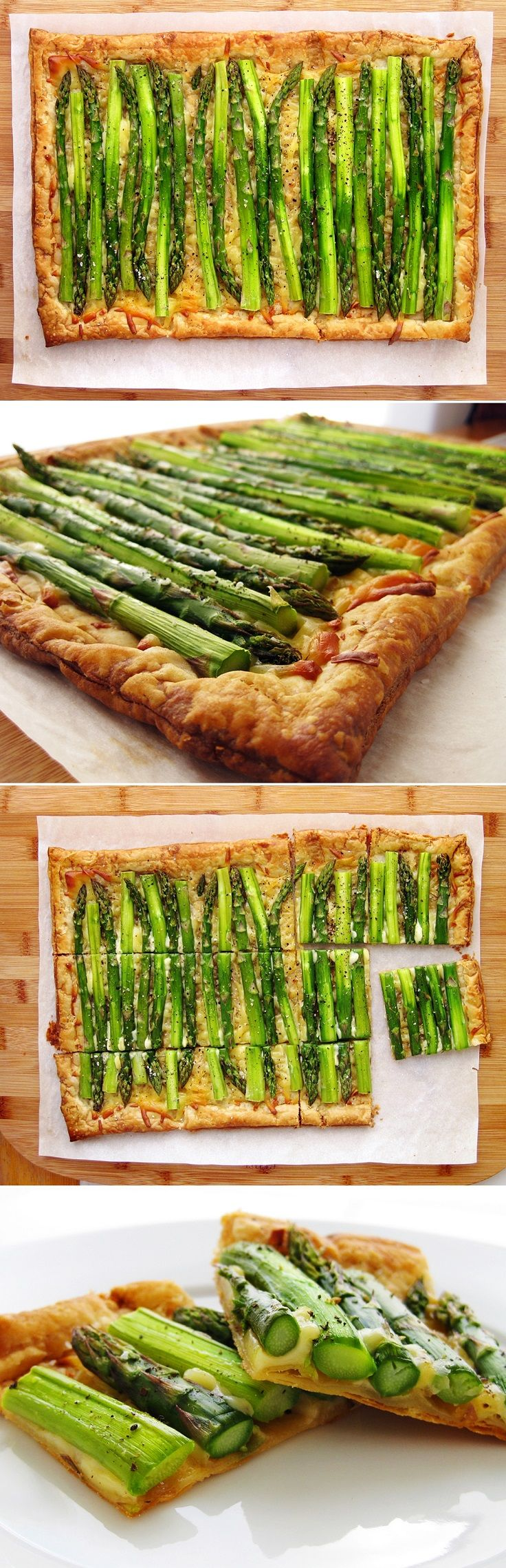 Asparagus Tart With Gruyere Recipes — Dishmaps