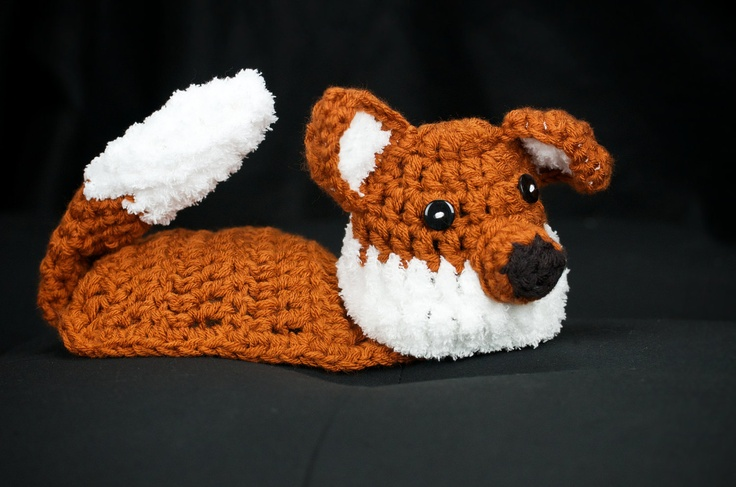 Fox Crochet Hat and Body Cape - Great photography prop. $32.00, via ...