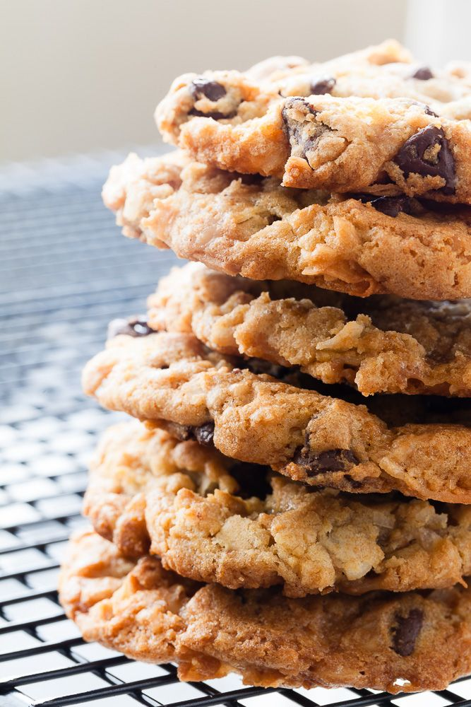 Toffee Almond Joy Cookie | Sweets | Pinterest