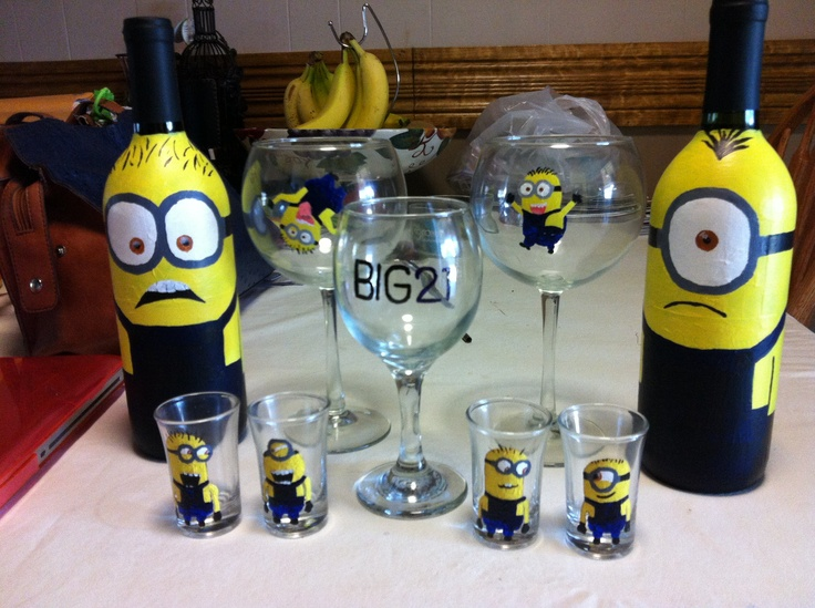 Minion Birthday Present