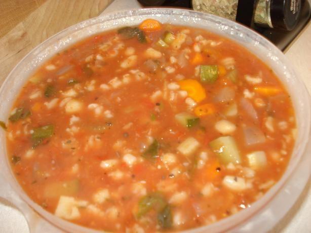 Crock Pot Vegetarian Minestrone Soup Recipe - Food.com - 395313