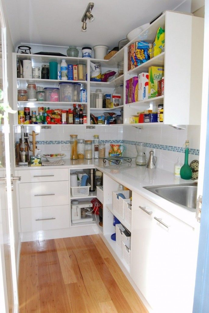 Walk In Pantry Closet Shelving Ideas Walk In Pantries Food Stor
