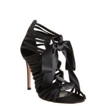 Gianvito Rossi Ribbon Lace-Up Sandal | Barneys shoes | Pinterest