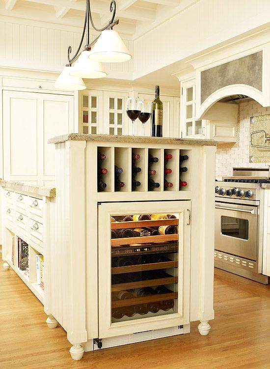 Island Wine cooler & storage For the Home