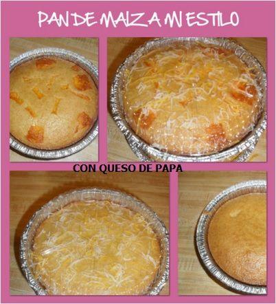 pan de maiz con o sin queso de papa | ^%^MIS TRABAJOS^%^ | Pinterest
