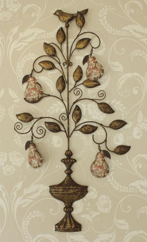 A Partridge And Pear Tree Wall Decor