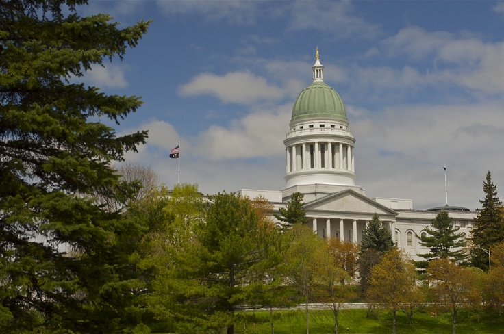 Maine state capitol augusta 1828 1832 us state capitals pintere