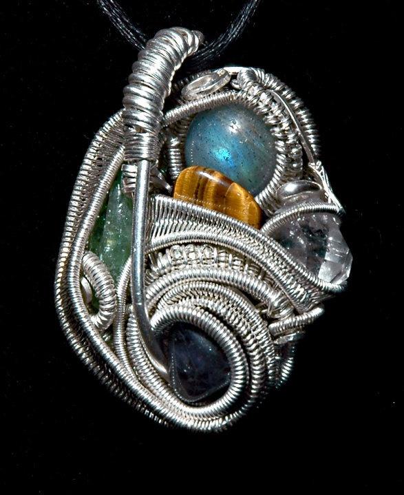 Andrew Bordash #wirewrap #jewelry #wirewrapjewelry