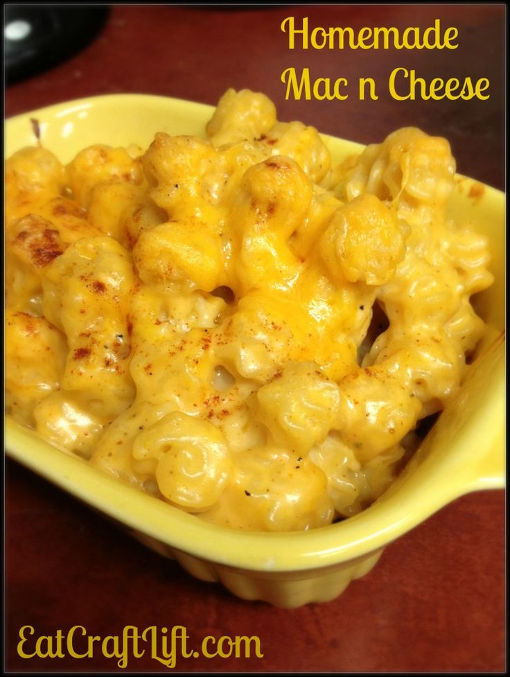 Homemade Baked Macaroni and Cheese | Yummies | Pinterest