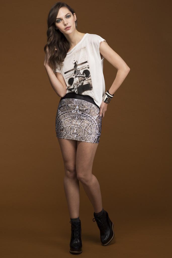 Calendar Skirt | Clothes that I like, a lot. | Pinterest