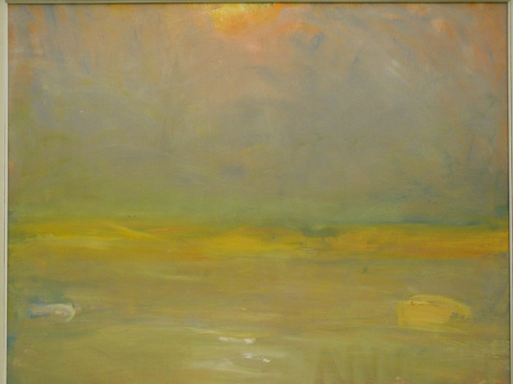 Gerringong Australia  City new picture : Lloyd Rees, 'Fire Haze at Gerringong' detail 1980 AGNSW