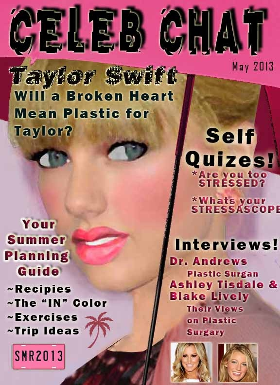 how to make a magazine cover for school project