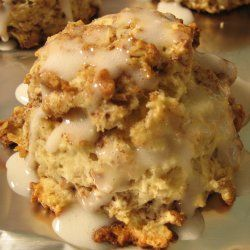 cinnamon bun scones - oh my! | Scones | Pinterest