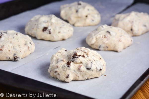 Chocolate Chip Pecan Meringue Cookies | Food! Great recipes from 'rou ...