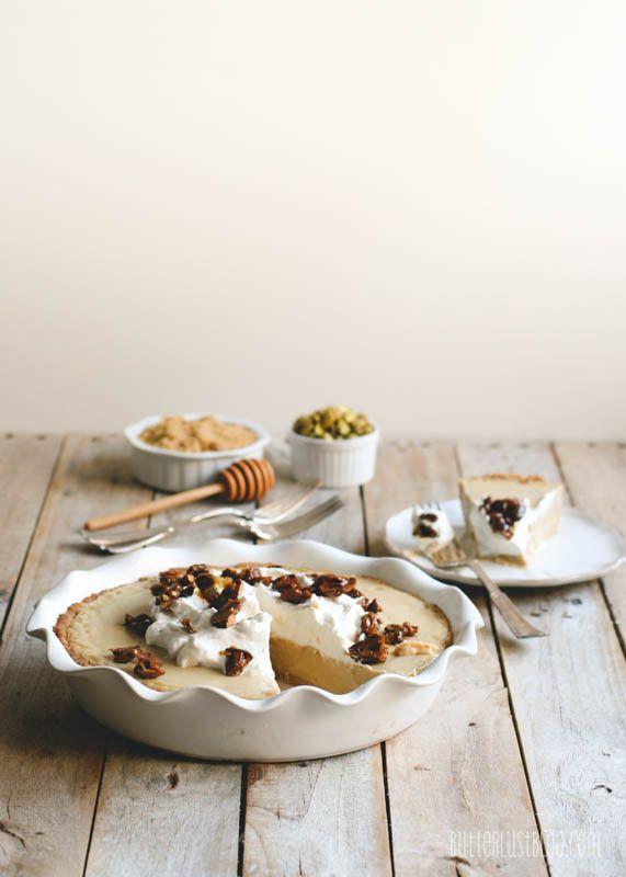 ... Shortbread Cookie Crust & Honeyed Pistachios | Desserts | Pinterest